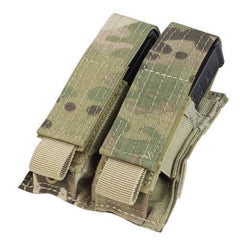 Double Pistol Mag Pouch - Multicam - Molle Pouches And Accessories - Condor Outdoor - Colonel Mustard