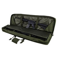 Double Rifle/shotgun Case 46 - Green - Rifle/carbine Cases - Vism - Colonel Mustard