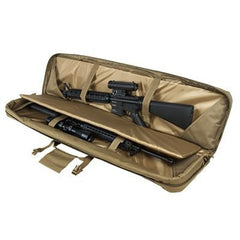 Double Rifle/shotgun Case 46 - Tan - Rifle/carbine Cases - Vism - Colonel Mustard