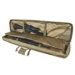 Double Rifle/shotgun Case 55 - Tan - Rifle/carbine Cases - Vism - Colonel Mustard