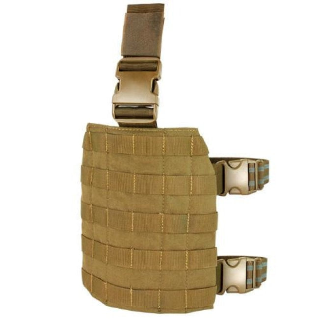 Drop Leg Platform - Coyote Brown - Molle Pouches And Accessories - Condor Outdoor - Colonel Mustard