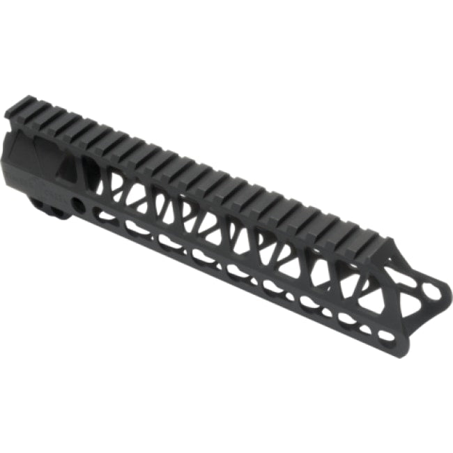 Enforcer 9 Free-Float Handguard - Keymod - Black - Handguards & Pistol Grips - Timber Creek Outdoors - Colonel Mustard