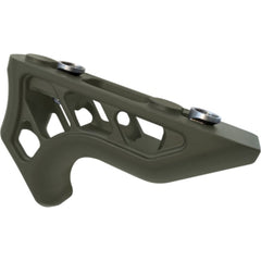 Enforcer Mini Angled Foregrip - Keymod - Od Green - Handguards & Pistol Grips - Timber Creek Outdoors - Colonel Mustard