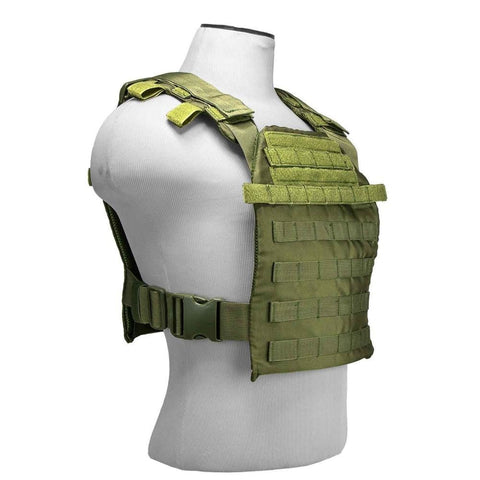 Fast Plate Carrier - 10 X 12 - Green - Vests/chest Rigs - Vism - Colonel Mustard