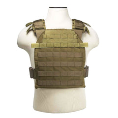 Fast Plate Carrier - 10 X 12 - Tan - Vests/chest Rigs - Vism - Colonel Mustard