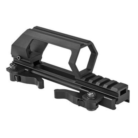 Gen 2 Ar-15 Detachable Carry Handle & Optic Mount - Quick Release - Mounting Systems - Vism - Colonel Mustard