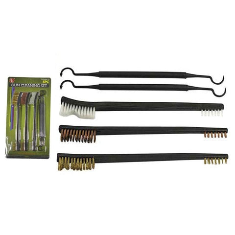 Gun Cleaning Brush And Pick Set - Cleaning - Se - Colonel Mustard