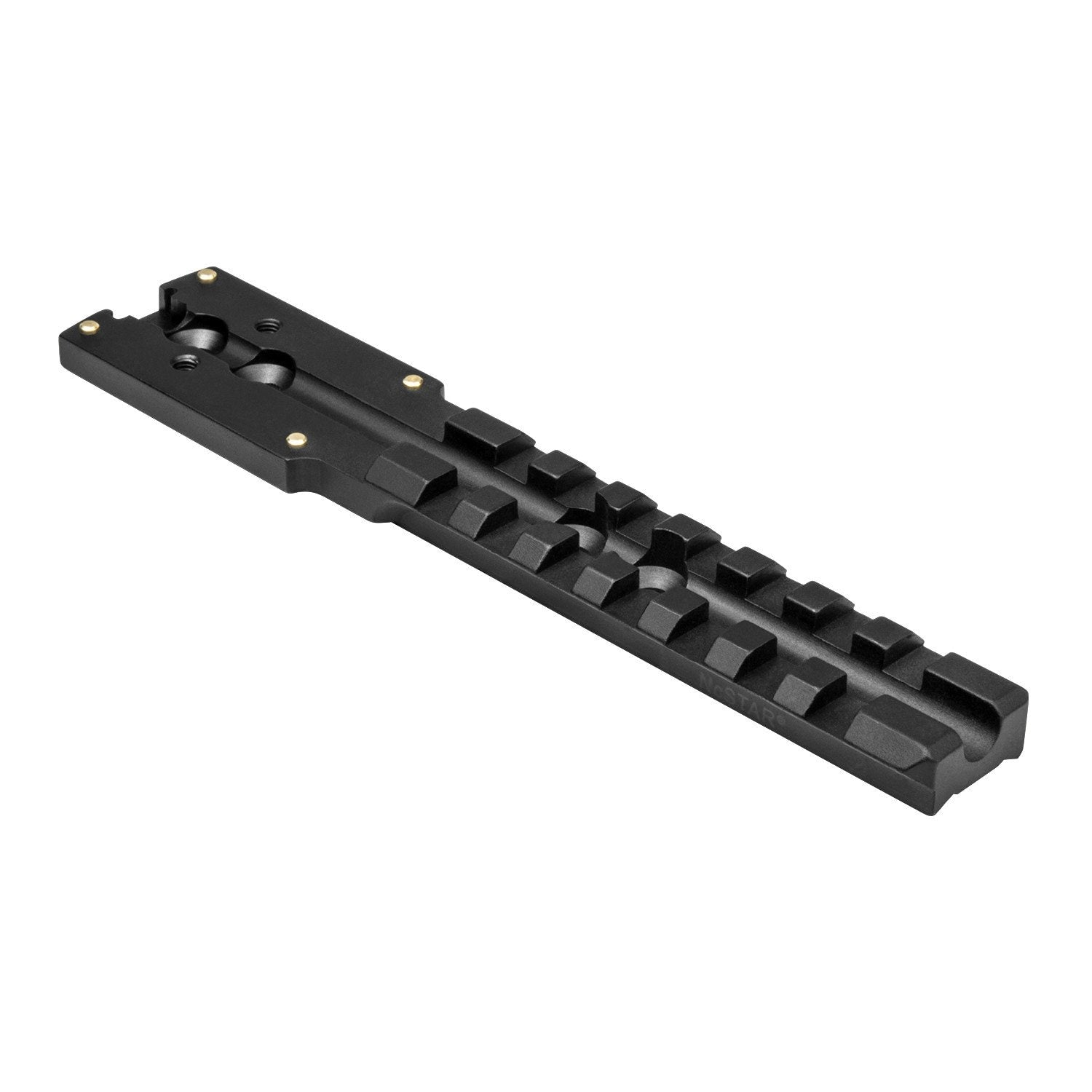 Mossberg 500/590 Receiver Micro Dot Rail - Mounting Systems - Ncstar - Colonel Mustard