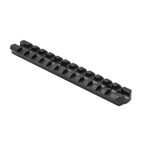 Mossberg 500/590 Receiver Rail - Mounting Systems - Ncstar - Colonel Mustard