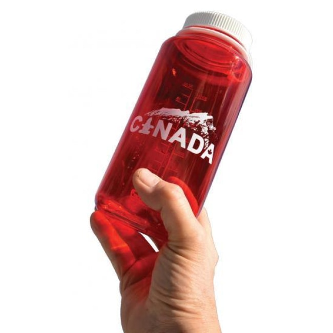 Nalgene 1 Litre / 32 Oz. Wide Mouth Bpa Free Water Bottle - Red Canada - Outdoor Equipment - Nalgene - Colonel Mustard