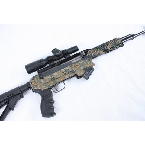 New Sabertooth Mk Ii Sks Aluminum Stock - Woodland Digital - Free Delivery In Canada - Mounting Systems - Matador Arms Corp - Colonel