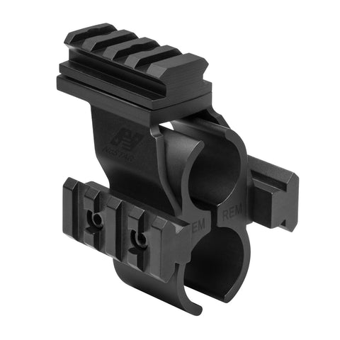 Remington 870 Barrel Micro Dot Rail - Mounting Systems - Ncstar - Colonel Mustard