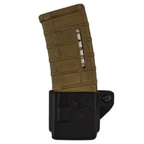 Single Kydex Ar 5.56/.223 Magazine Pouch - Belt Clip - Comp-Tac - Holsters And Scabbards - Comp-Tac - Colonel Mustard