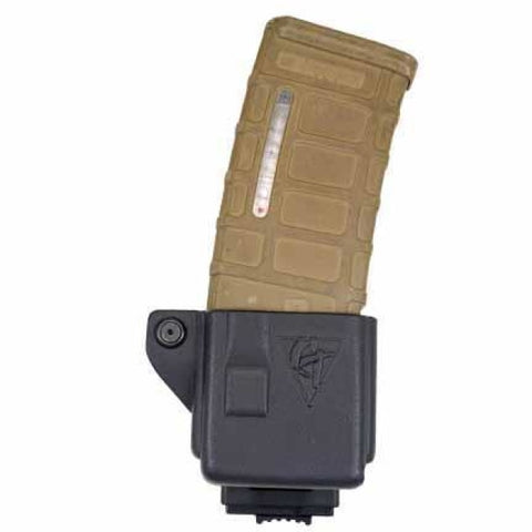 Single Kydex Ar 5.56/.223 Magazine Pouch - Push-Button Locking Mount - Comp-Tac - Holsters And Scabbards - Comp-Tac - Colonel Mustard