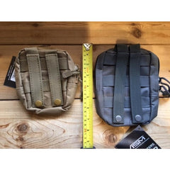 Small Utility Pouch - Green - Molle Pouches And Accessories - Vism - Colonel Mustard
