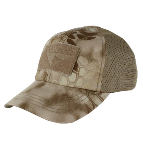 Tactical Cap Mesh Back - Kryptek Nomad - Clothing - Condor Outdoor - Colonel Mustard