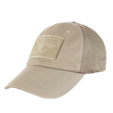 Tactical Cap Mesh Back - Tan - Clothing - Condor Outdoor - Colonel Mustard