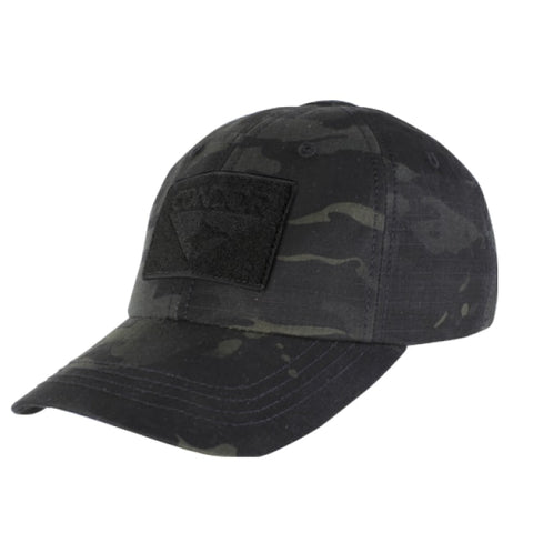 Tactical Cap - Multicam Black - Clothing - Condor Outdoor - Colonel Mustard