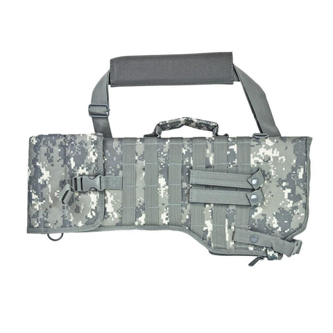 Tactical Rifle / Shotgun Scabbard - Digital Camo - Holsters And Scabbards - Vism - Colonel Mustard