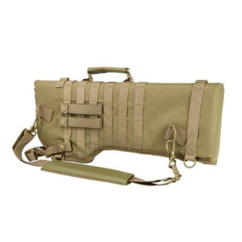 Tactical Rifle / Shotgun Scabbard - Tan - Holsters And Scabbards - Vism - Colonel Mustard
