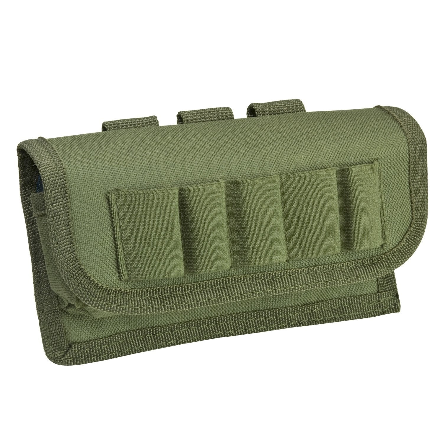 Tactical Shotshell Carrier - Green - Molle Pouches And Accessories - Vism - Colonel Mustard