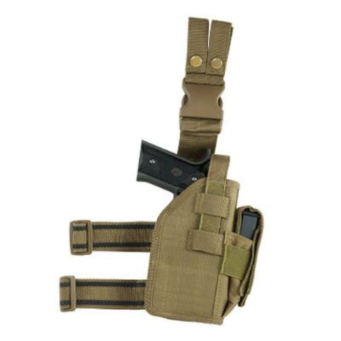Universal Drop Leg Holster - Tan (2954) - Holsters And Scabbards - Vism - Colonel Mustard