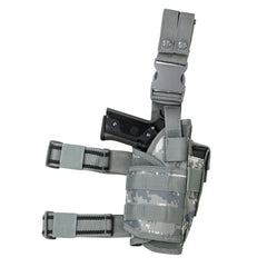 Universal Tactical Drop Leg Holster - Digital Camo (2955) - Holsters And Scabbards - Vism - Colonel Mustard