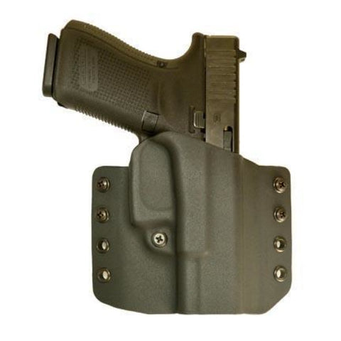 Warrior Kydex Holster - Stealth Owb - Comp-Tac - Glock 17/22/31 Gen 1/2/3/4/5 Rsc Black - Holsters And Scabbards - Comp-Tac - Colonel