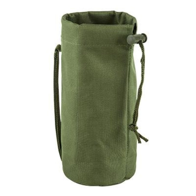 Water Bottle / Accessory Pouch - Green - Molle Pouches And Accessories - Vism - Colonel Mustard