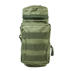 Water Bottle Carrier - Green - Molle Pouches And Accessories - Vism - Colonel Mustard