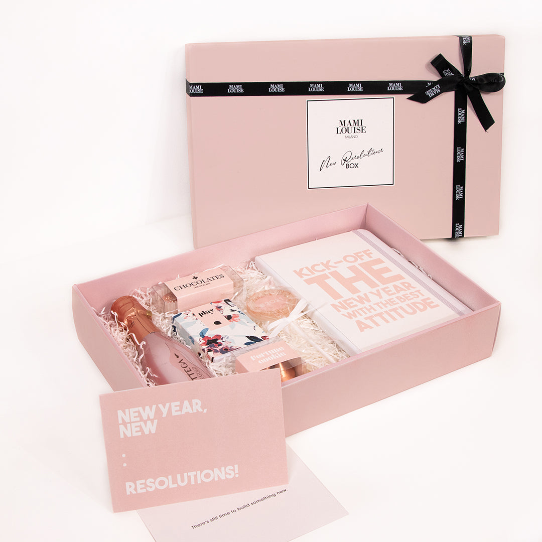 NEW RESOLUTIONS BOX