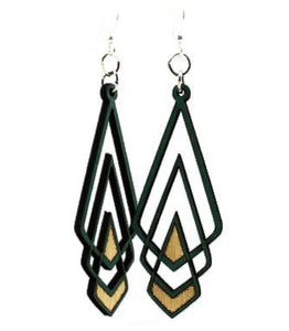 Chevron Deco Earrings