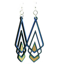 Load image into Gallery viewer, Chevron Deco Earrings