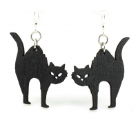 Halloween Cat Earrings