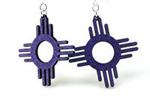 Load image into Gallery viewer, The Zia (Sun) Earrings