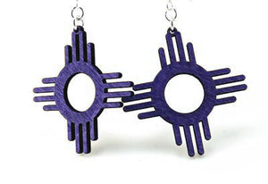 The Zia (Sun) Earrings