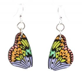 Brilliant Butterfly Wing Earrings