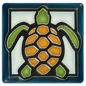 Sea Turtle 4x4 Tile
