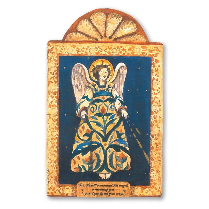 Guardian Angel Retablo- Protection and Guidance