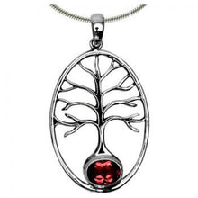Load image into Gallery viewer, Tree of Life Gemstone Pendant