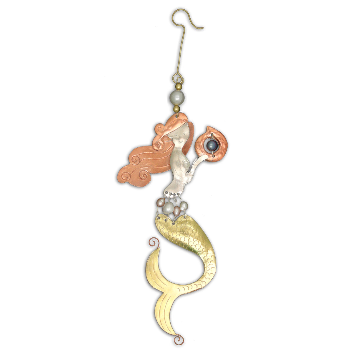 Pearl Mermaid Ornament