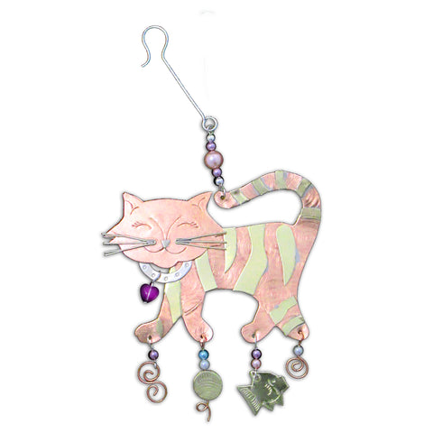 Tiger Cat Ornament