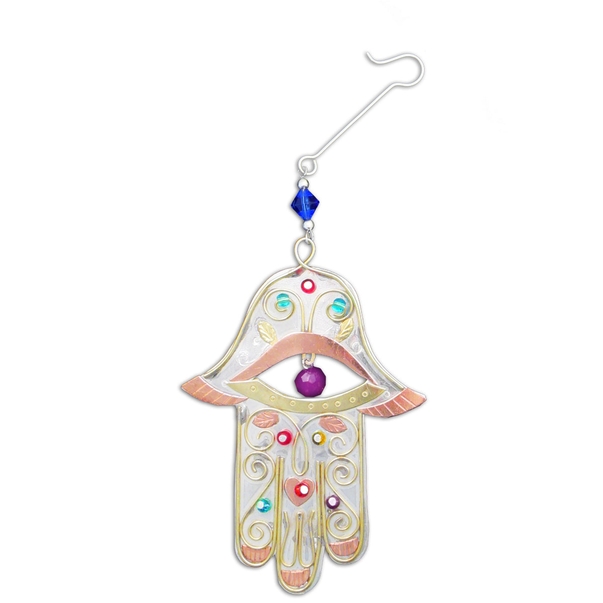 Peaceful Hamsa Ornament
