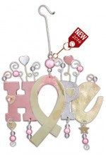 Hope Ribbon Ornament