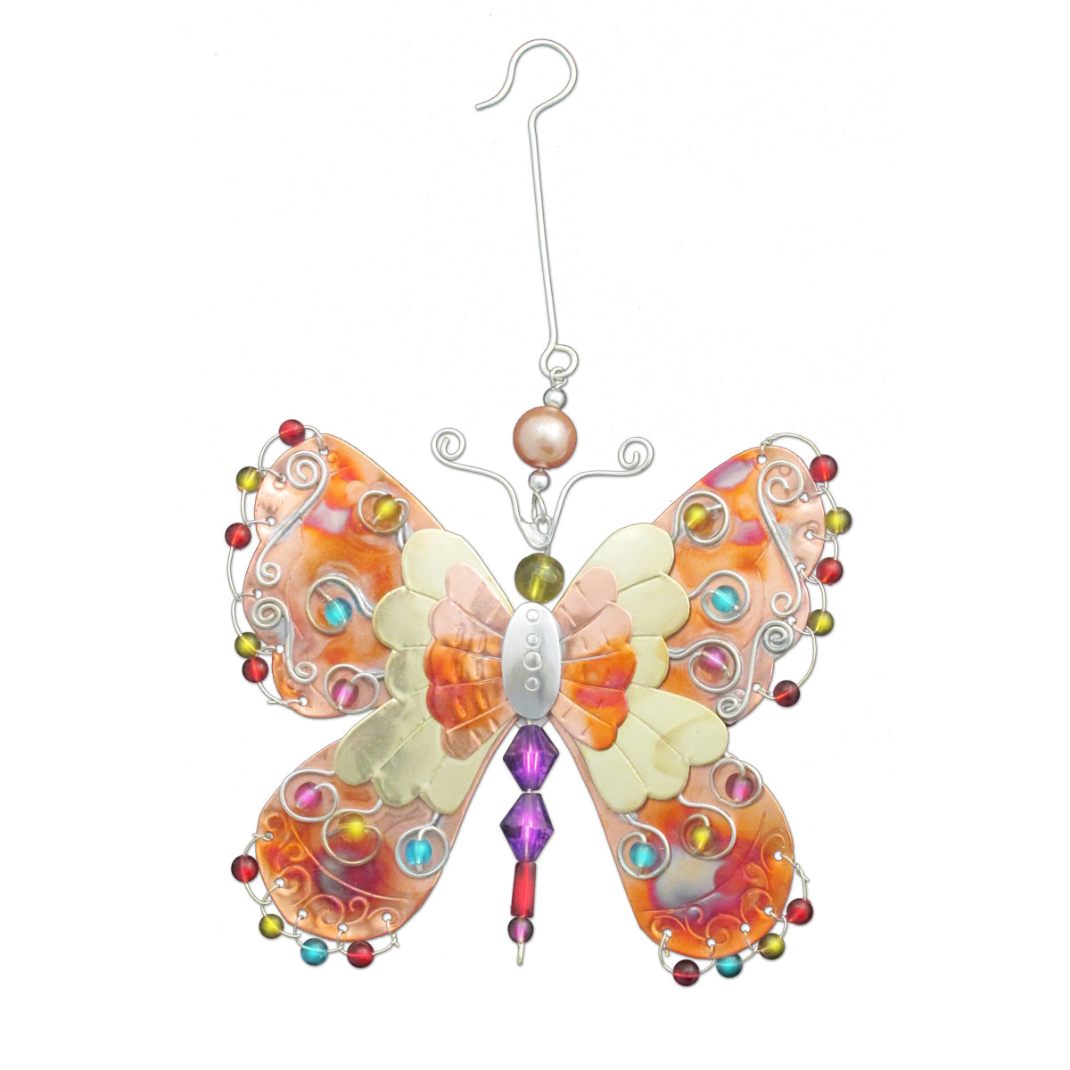 Bright Wings Butterfly Ornament