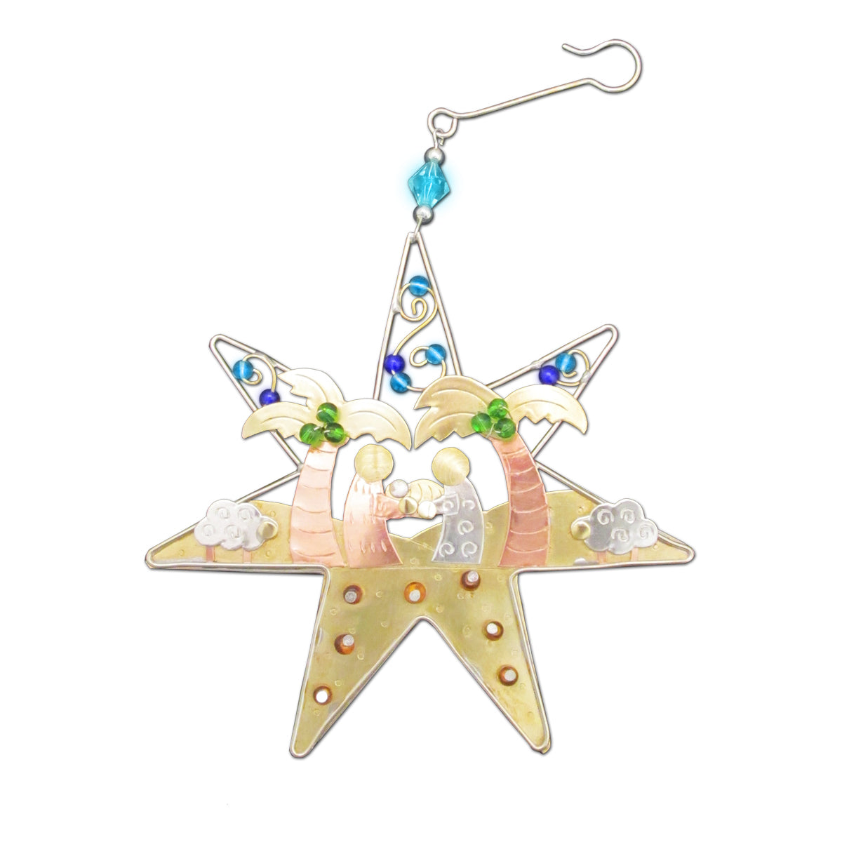 Star Nativity Ornament