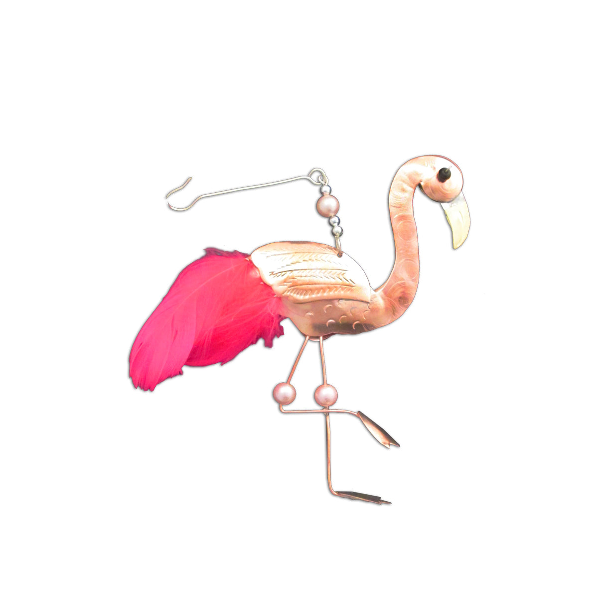 Frankie Flamingo Ornament