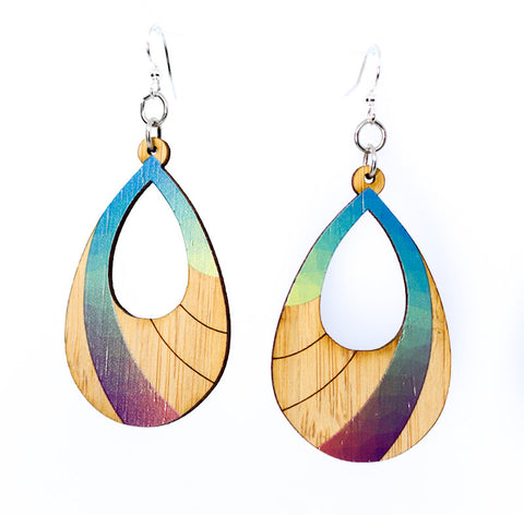 Prism bamboo Earrings