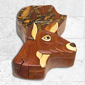 Buck Head Puzzle Box