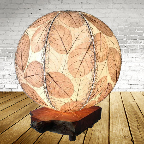 Driftwood Orb Natural Lamp